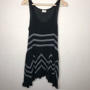 Free People Black Slip Dress